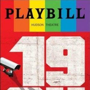Playbill 1984 Tom Sturridge Olivia Wilde  Broadway